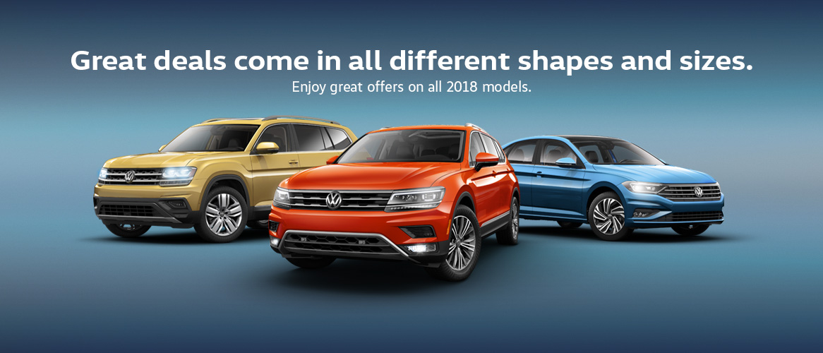VW Monthly Incentives